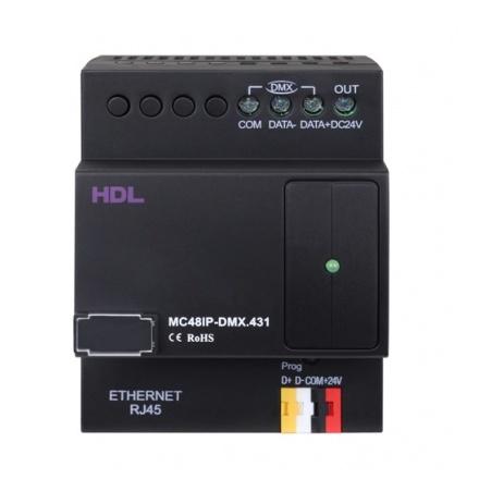 دیمر 48 کانال تحت DMX هوشمند HDL
